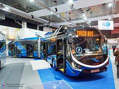 Iveco Crealis 18 trolley (Pi Eye) Tags: iveco crealis articulé gelenk trolley skoda 35tr busworld busworld2019
