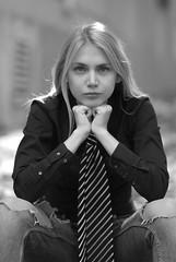 Eve ... FP7443M (attila.stefan) Tags: evelin eve eyes eye stefán stefan samyang fall autumn győr girl gyor hungary pentax portrait portré k50 2019 85mm