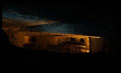 Kammerpfeilerbau (SurfacePics) Tags: kleinenbremen wesergebirge minden portawestfalica nrw nordrheinwestfalen deutschland northrhinewestphalia germany europe europa surfacepics 2017 indoor june juni altbergbau bergwerk erzbergwerk oremine oremining besucherbergwerk kammerpfeilerbau besucher exhibition ausstellung museum indunstriekultur stollen shaft mineshaft minas mine sonyalpha77ii sonyalpha photo photography foto fotografie underground undergroundexploring untertage belowground subground gold color farbe licht light darkness dark places technik