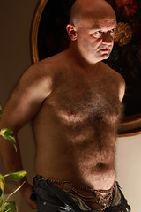 SEX (Andrea Pelizzaro - my amateur pics) Tags: handsome man male daddy bear peludo dad hunk chest hairy