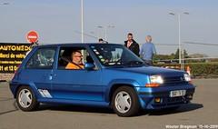 Renault 5 GT Turbo 1987 (Wouter Bregman) Tags: 5681tv93 renault 5 gt turbo 1987 renault5gtturbo renault5 supercinq r5 gtt blue bleu automédon 2019 le bourget lebourget îledefrance 93 france frankrijk carshow meeting hot hatch hatchback youngtimer old classic french car auto automobile voiture ancienne française vehicle outdoor