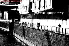 """Sonntagsspaziergang"" (Cologne Cam Authentic Art) Tags: art kunst urban city street streetshot streetphoto streetphotography people abstract contrast blackandwhite blackwhite bw monochrome schwarzweiss bwphotography light dark dunkel schwarz weiss köln cologne keulen rhein rhine hafen port rheinauhafen"