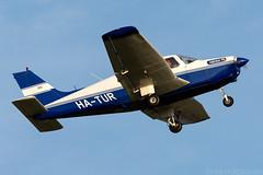 HA-TUR (Andras Regos) Tags: aviation aircraft plane fly airport lhny nyíregyháza trener trenerkft takeoff piper pa28 cherokee warrior warriorii spotter spotting