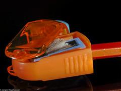 Macro Mondays - Stationary - Sharpener (J.Weyerhäuser) Tags: bleistift hmm makro spitzermacromondays stationary colors pencil sharpener