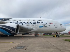 Malaysia Airlines Airbus A380-841 9M-MNF (josh83680) Tags: manchesterairport manchester airport man egcc 9mmnf airbus airbusa380841 a380841 airbusa380800 a380800 malaysia airlines malaysiaairlines rr trent 970 900