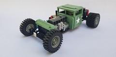 M35A2 (Deuce and a Half) Rat Rod (rabidnovaracer) Tags: lego truck army deuceandahalf rat rod