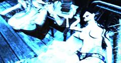 "Pryce: Macabre Halloween Challenge 2.0 ""Depression II"" (Miru in SL) Tags: second life sl horror pryce macabre halloween challenge 20 color light gothic freak depression altered weird avatar dead"