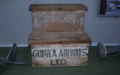 Hi tech plane steps (Runabout63) Tags: guinea airways step
