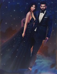 [ 📷 - 111 ] (insociable.sl) Tags: clouds models glam beauty beautiful stars sky chic dress suit 31 classy hapinness girlfriend love bae couple edit sl secondlife