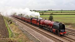 6233_2019-10-19_Colton_7200 (Tony Boyes) Tags: 6233 duchess sutherland colton 47802 railtour steam