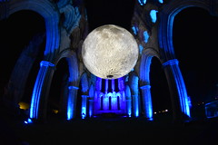 Museum of the Moon by Luke Jerram (CoasterMadMatt) Tags: rievaulxabbey2019 rievaulxabbey rievaulx abbey ruinedabbey ruinedmonastery monastery cistercianmonastery cistercian yorkshireattractions attractionsinyorkshire illuminatingrievaulx2019 illuminatingrievaulx illuminating specialevent museumofthemoon museum moon art artworks lukejerram abbeychurch church wideangle wide angle ruinedcistercianmonastery abbeyruins ruinedabbeysinengland englishruinedabbeys building structure architecture history englishhistory englishheritage northyorkshire yorkshire yorks england britain greatbritain gb unitedkingdom uk europe september2019 autumn2019 september autumn 2019 coastermadmattphotography coastermadmatt photos photographs photography nikond3500