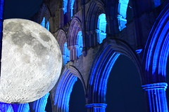 Church Moon (CoasterMadMatt) Tags: rievaulxabbey2019 rievaulxabbey rievaulx abbey ruinedabbey ruinedmonastery monastery cistercianmonastery cistercian yorkshireattractions attractionsinyorkshire illuminatingrievaulx2019 illuminatingrievaulx illuminating specialevent museumofthemoon museum moon art artworks lukejerram abbeychurch church ruinedcistercianmonastery abbeyruins ruinedabbeysinengland englishruinedabbeys building structure architecture history englishhistory englishheritage northyorkshire yorkshire yorks england britain greatbritain gb unitedkingdom uk europe september2019 autumn2019 september autumn 2019 coastermadmattphotography coastermadmatt photos photographs photography nikond3500