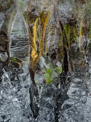 Icetime V (Fjällkantsbon) Tags: doroteakommun höst sverige klöverdalenmedomgivningar lappland borgafjäll evamårtensson västerbottenslän ice is abstrakt abstractart