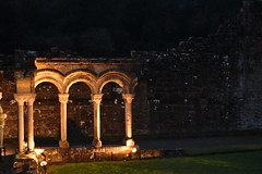 Cloister (CoasterMadMatt) Tags: rievaulxabbey2019 rievaulxabbey rievaulx abbey ruinedabbey ruinedmonastery monastery cistercianmonastery cistercian yorkshireattractions attractionsinyorkshire illuminatingrievaulx2019 illuminatingrievaulx illuminating specialevent cloister arches archway ruinedcistercianmonastery abbeyruins ruinedabbeysinengland englishruinedabbeys building structure architecture history englishhistory englishheritage northyorkshire yorkshire yorks england britain greatbritain gb unitedkingdom uk europe september2019 autumn2019 september autumn 2019 coastermadmattphotography coastermadmatt photos photographs photography nikond3500