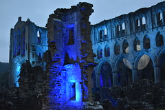 Cistercian Abbeys of England: Rievaulx (CoasterMadMatt) Tags: rievaulxabbey2019 rievaulxabbey rievaulx abbey ruinedabbey ruinedmonastery monastery cistercianmonastery cistercian yorkshireattractions attractionsinyorkshire illuminatingrievaulx2019 illuminatingrievaulx illuminating specialevent abbeychurch church ruinedcistercianmonastery abbeyruins ruinedabbeysinengland englishruinedabbeys building structure architecture history englishhistory englishheritage northyorkshire yorkshire yorks england britain greatbritain gb unitedkingdom uk europe september2019 autumn2019 september autumn 2019 coastermadmattphotography coastermadmatt photos photographs photography nikond3500