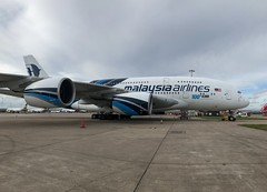Malaysia Airlines Airbus A380-841 9M-MNF (josh83680) Tags: manchesterairport manchester airport man egcc 9mmnf airbus airbusa380841 a380841 airbusa380800 a380800 malaysia airlines malaysiaairlines