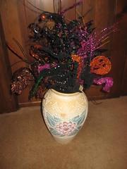 Halloween Crafts (novels44) Tags: halloween crafts needlepoint flower arrangements wreaths doorknob hangers holidays
