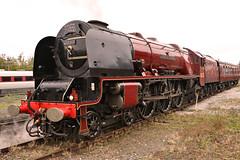 6233_2019-10-19_NRM-York_7219 (Tony Boyes) Tags: 6233 duchess sutherland 47802 railtour steam