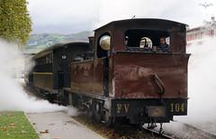 """FV 104 """"AURRERA"""", Azpeitia (lagunadani) Tags: aurrera steam locomotive locomotora vapor azpeitia museo ferrocarril tren narrowgauge fv 104"""