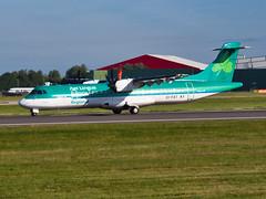 EI-FAT Aer Lingus Regional ATR 72-600 (alex kerr photography) Tags: egcc manchesterairport airport avgeek aviation planespotter passengerplane passengerjet planes jet