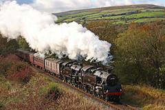 Double Standards (gareth46233) Tags: 80080 80097 br standard tank tanks ewood bridge elr east lancs railway lancashire