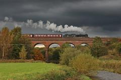 44871 (gareth46233) Tags: 44871 lms black 5 roach viaduct elr east lancs railway lancashire