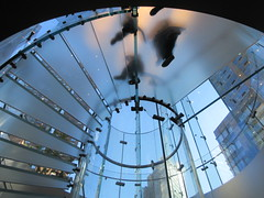 2019 West Side MAC Store Glass Floor Stairs NYC 5817 (Brechtbug) Tags: 2019 the other mac store glass floor stairs apple cube entrance computer stores near lincoln plaza hotel 66th street broadway new york city 10192019 west side midtown macs macintosh computers entrepreneur innovator cofounder chairman inc studios steve jobs six below feet view ice frosted plates underneath worms eye views october 19th
