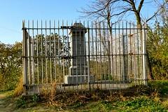 First Bride Grave Monument, South Ravine Park, Sioux City (ali eminov) Tags: