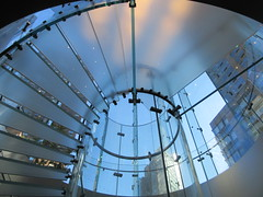 2019 West Side MAC Store Glass Floor Stairs NYC 5810 (Brechtbug) Tags: 2019 the other mac store glass floor stairs apple cube entrance computer stores near lincoln plaza hotel 66th street broadway new york city 10192019 west side midtown macs macintosh computers entrepreneur innovator cofounder chairman inc studios steve jobs six below feet view ice frosted plates underneath worms eye views october 19th
