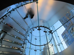 2019 West Side MAC Store Glass Floor Stairs NYC 5807 (Brechtbug) Tags: 2019 the other mac store glass floor stairs apple cube entrance computer stores near lincoln plaza hotel 66th street broadway new york city 10192019 west side midtown macs macintosh computers entrepreneur innovator cofounder chairman inc studios steve jobs six below feet view ice frosted plates underneath worms eye views october 19th