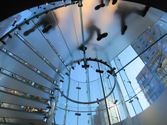 2019 West Side MAC Store Glass Floor Stairs NYC 5802 (Brechtbug) Tags: 2019 the other mac store glass floor stairs apple cube entrance computer stores near lincoln plaza hotel 66th street broadway new york city 10192019 west side midtown macs macintosh computers entrepreneur innovator cofounder chairman inc studios steve jobs six below feet view ice frosted plates underneath worms eye views october 19th