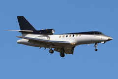 N27GA | Dassault Falcon 50 | SN 181 LLC (cv880m) Tags: newyork jfk kjfk kennedy johnfkennedy aviation airliner aircraft airplane jetliner airport spotting planespotting n27ga dassault falcon falcon50 sn181 bizjet trijet