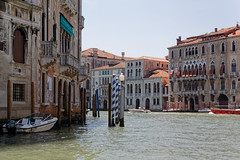 Venice, Italy (wildhareuk) Tags: canon canoneos500d grandcanal italy tamron18270mm venice venice2019 water boat building canal pilings tamron img9905dxo