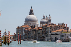 Venice, Italy (wildhareuk) Tags: canon canoneos500d church grandcanal italy tamron18270mm venice venice2019 water basilica boat building cupola dome piling tamron img9914dxo