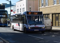 First Kernow 53154 (thesouthwestbusguys) Tags: first firstkernow kernow cornwall busesbykernow busenthusiast ukbuses bus uktransport optare 53154 yj05xor 47
