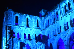 Abbey Church Ruins, Rievaulx Abbey, Yorkshire (CoasterMadMatt) Tags: rievaulxabbey2019 rievaulxabbey rievaulx abbey ruinedabbey ruinedmonastery monastery cistercianmonastery cistercian yorkshireattractions attractionsinyorkshire illuminatingrievaulx2019 illuminatingrievaulx illuminating specialevent abbeychurch church ruinedcistercianmonastery abbeyruins ruinedabbeysinengland englishruinedabbeys building structure architecture history englishhistory englishheritage northyorkshire yorkshire yorks england britain greatbritain gb unitedkingdom uk europe september2019 autumn2019 september autumn 2019 coastermadmattphotography coastermadmatt photos photographs photography nikond3500