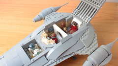 Lego Nubian Royal Starship (hachiroku24) Tags: lego star wars nubian royal starship naboo moc phantom menace