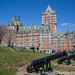 Cannons by the Château Frontenac
