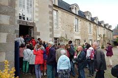 Visite du château des Onglées à Acigné pour la Journée du patrimoine