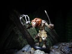 Gnoll Flesh Gnawer (ridureyu1) Tags: gnoll dungeonsdragons dungeonsanddragons tsr wizardsofthecoast wotc rpg roleplayinggame gygax arneson toy toys actionfigure toyphotography sonycybershotsonycybershotdscw690