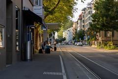 Tram street (¡Carlitos) Tags: switzerland europe zurich europa schweiz suisse suiza svizzera zürich cantonofzürich
