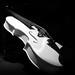 Violon (Patrick Boily) Tags: exposition impression 3d printing museum maison hamel bruneau quebec automne autumn violon music instrument black white noir blanc