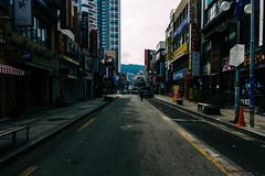 Empty (OzGFK) Tags: busan canon canons100 korea powershot s100 cityscape compactcamera emptystreet contrast nampo