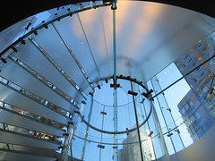 2019 West Side MAC Store Glass Floor Stairs NYC 5809 (Brechtbug) Tags: 2019 the other mac store glass floor stairs apple cube entrance computer stores near lincoln plaza hotel 66th street broadway new york city 10192019 west side midtown macs macintosh computers entrepreneur innovator cofounder chairman inc studios steve jobs six below feet view ice frosted plates underneath worms eye views october 19th