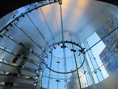 2019 West Side MAC Store Glass Floor Stairs NYC 5808 (Brechtbug) Tags: 2019 the other mac store glass floor stairs apple cube entrance computer stores near lincoln plaza hotel 66th street broadway new york city 10192019 west side midtown macs macintosh computers entrepreneur innovator cofounder chairman inc studios steve jobs six below feet view ice frosted plates underneath worms eye views october 19th