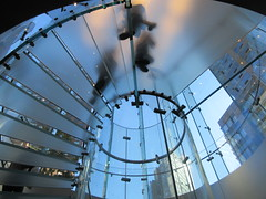 2019 West Side MAC Store Glass Floor Stairs NYC 5801 (Brechtbug) Tags: 2019 the other mac store glass floor stairs apple cube entrance computer stores near lincoln plaza hotel 66th street broadway new york city 10192019 west side midtown macs macintosh computers entrepreneur innovator cofounder chairman inc studios steve jobs six below feet view ice frosted plates underneath worms eye views october 19th