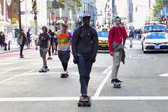 Broadway Bomb 2019 (pburka) Tags: skateboard skating skater fulton nyc manhattan fidi broadwaybomb broadwaybomb19 broadwaybomb2019 street people wheels broadwaybombnyc action
