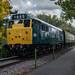 Diesel-Hauled Train at Avon Valley Railway