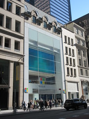 2019 Microsoft Store on 5th Avenue 6123 (Brechtbug) Tags: 2019 microsoft store 5th avenue 53rd street nyc windows 8 eight surface tablet computers new york city 10192019 bill gates window midtown manhattan mac macintosh apple rival competition pc personal computer facade front exterior display