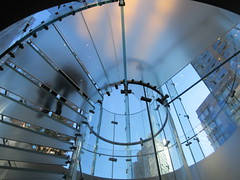 2019 West Side MAC Store Glass Floor Stairs NYC 5814 (Brechtbug) Tags: 2019 the other mac store glass floor stairs apple cube entrance computer stores near lincoln plaza hotel 66th street broadway new york city 10192019 west side midtown macs macintosh computers entrepreneur innovator cofounder chairman inc studios steve jobs six below feet view ice frosted plates underneath worms eye views october 19th